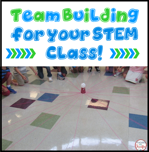 Team Building for STEM Challenges - STEM Activities for Kids