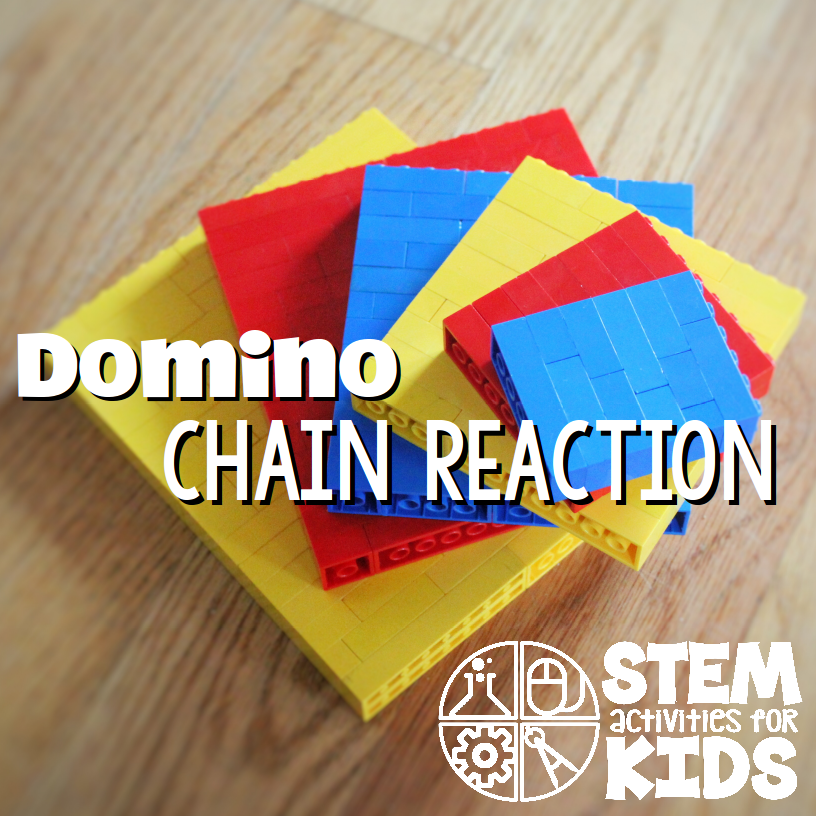 Domino Chain Reaction Stem Activities For Kids