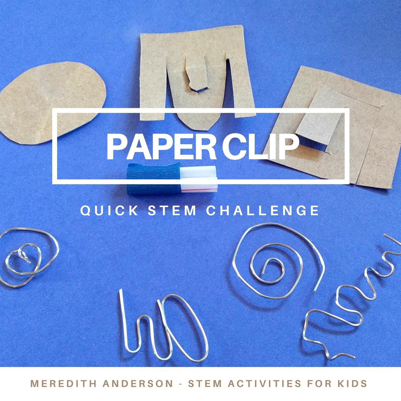 Best Stem Challenge Ever: Quick STEM Challenge For Kids