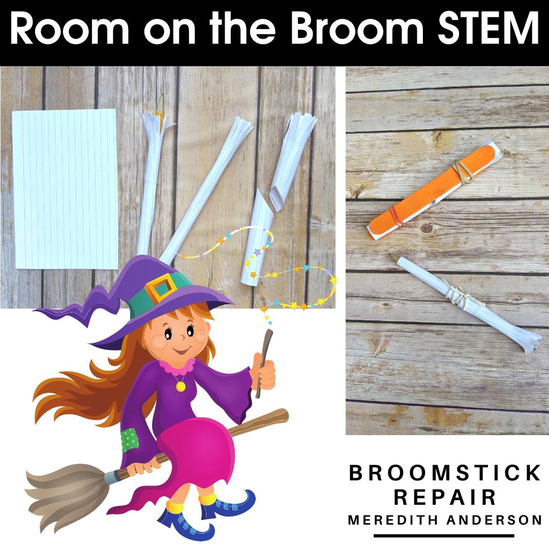 Stem Activities For Room On The Broom Halloween Stem Challenges Stem Activities For Kids